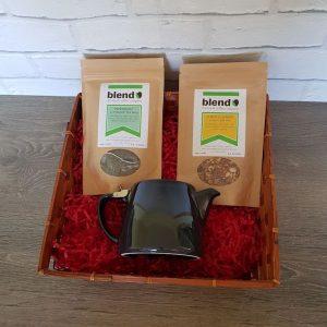 Teapot & 2 teas gift set